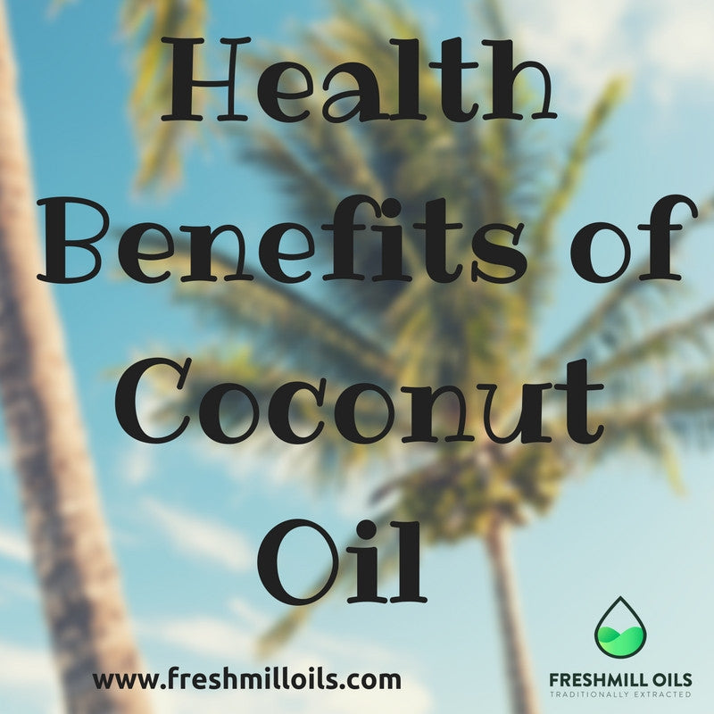Health Benefits of Coconut Oil !