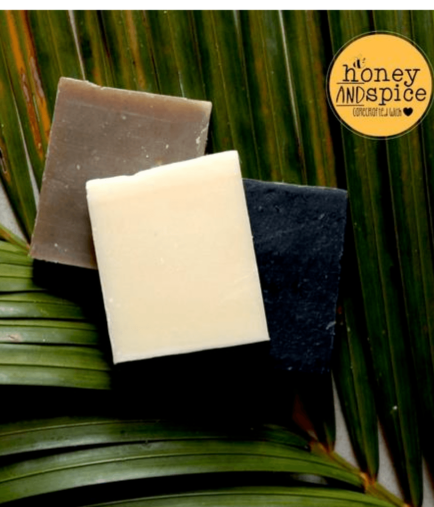 Coconut oil soap bars - pack of 3