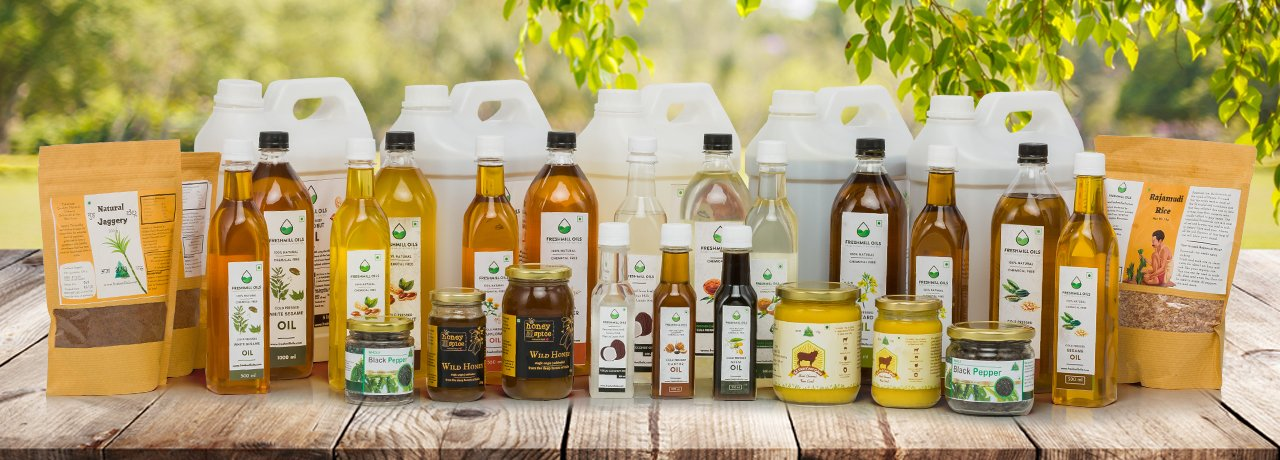 Cold Pressed Oil | Bangalore India – FreshMill Oils