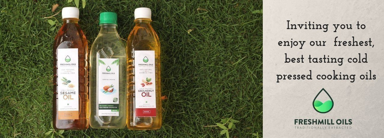 FreshMill - Unrefined Cold Pressed Edible Oils