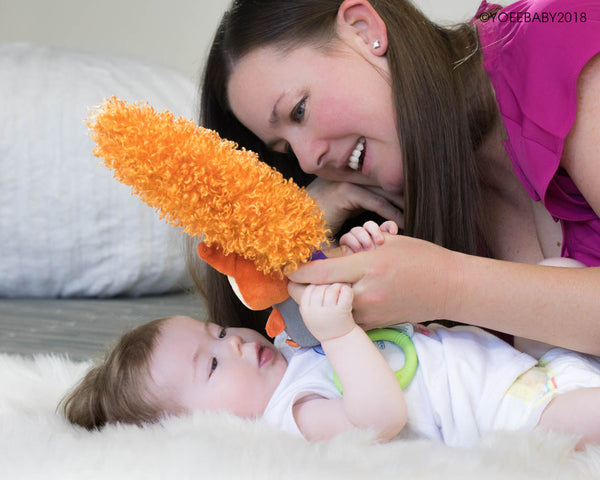 Yoee Baby Bunny - A Developmental Baby Toy For Bonding and Play
