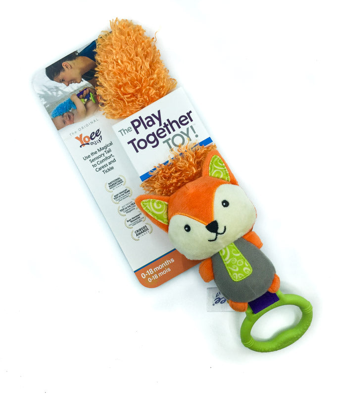 Yoee Baby Puppy and Violet Sensory Feather Bundle