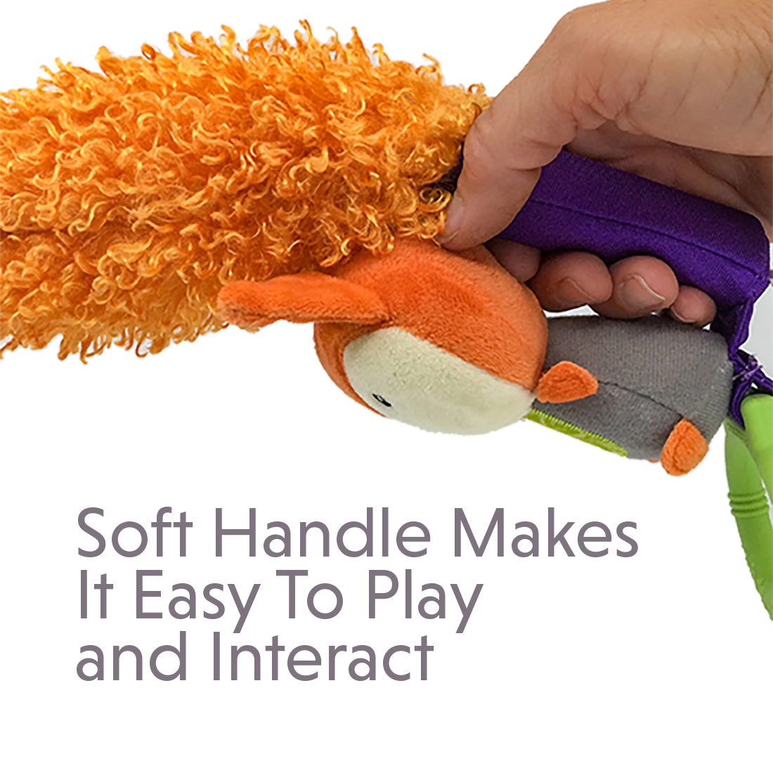 Yoee Baby Fox and Violet Sensory Feather Bundle