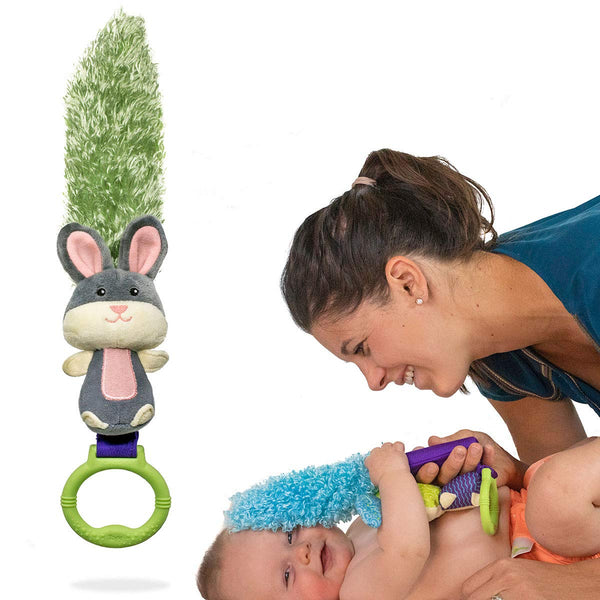 Yoee Baby Bunny - A Premium Multi-Purpose Newborn Baby Development Toy