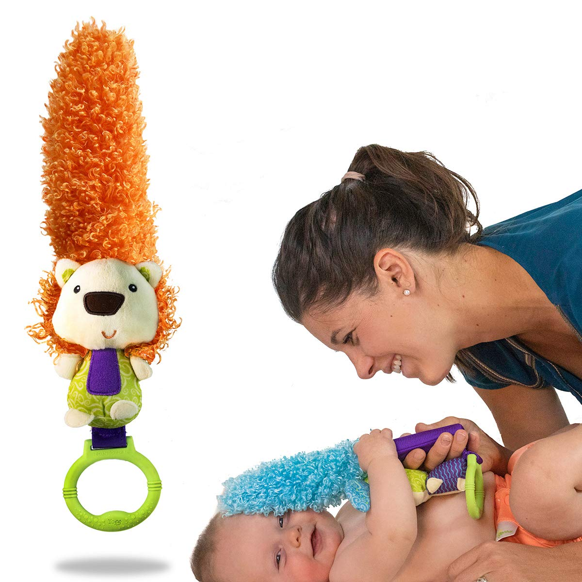 Yoee Baby Lion - A Premium Multi-Purpose Newborn Baby Development Toy