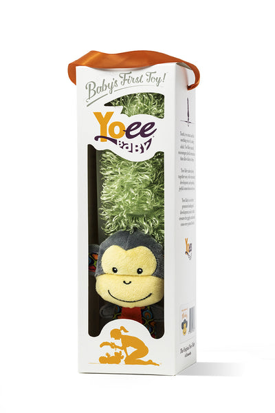 Yoee Baby Monkey - A Premium Multi-Purpose Newborn Baby Development Toy