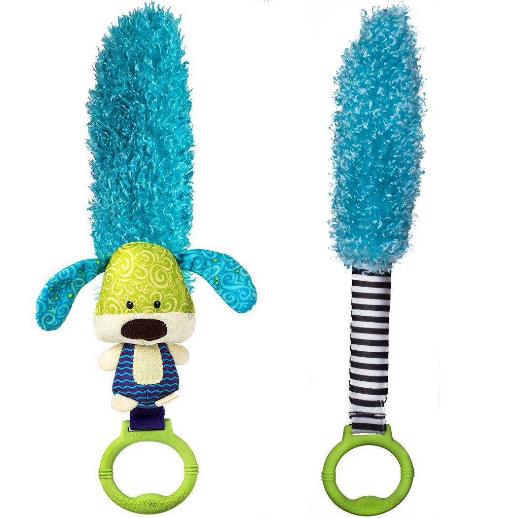 Yoee Baby Puppy and Blue Sensory Feather Bundle