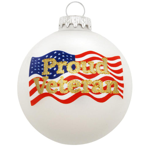 Proud Veteran Ornament