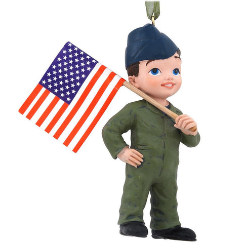 Air Force Kid Ornament