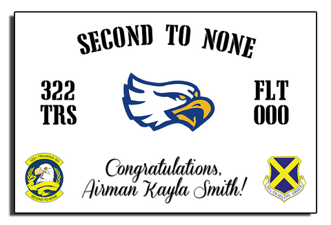 "322nd ""Second to None"" Banner"