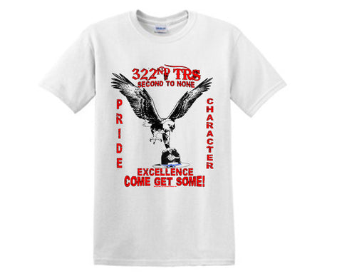 Air Force TShirt 322 TRS 2 WHITE
