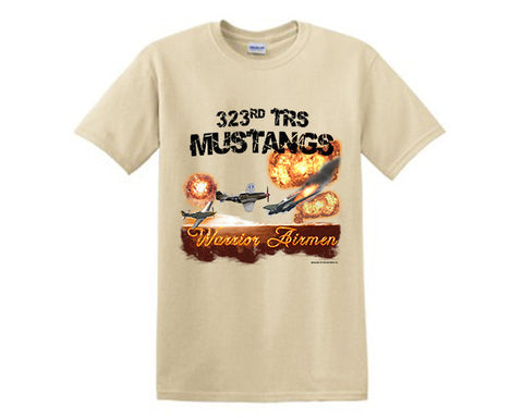 Air Force TShirt 323 TRS SAND