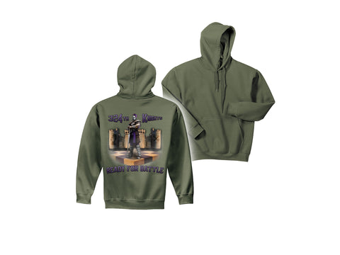 Air Force Hooded Pullover Sweatshirt 324 TRS MILITARY GREEN