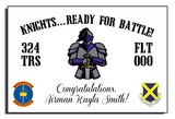 "324th ""Knights... Ready for Battle!"" Banner"