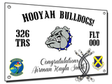 "326th ""Hooyah Bulldogs!"" Banner"