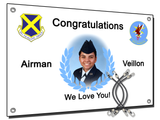 Air Force Congratulations Banner Option #3