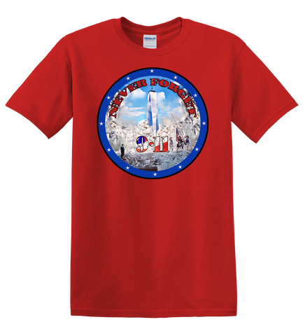 9-11 T-Shirt RED