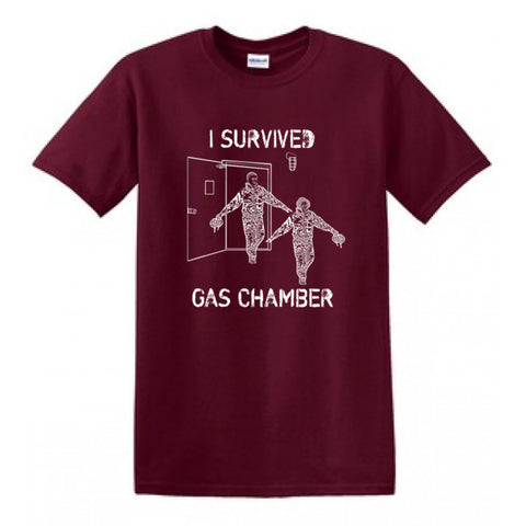Air Force TShirt Gas Chamber- Maroon