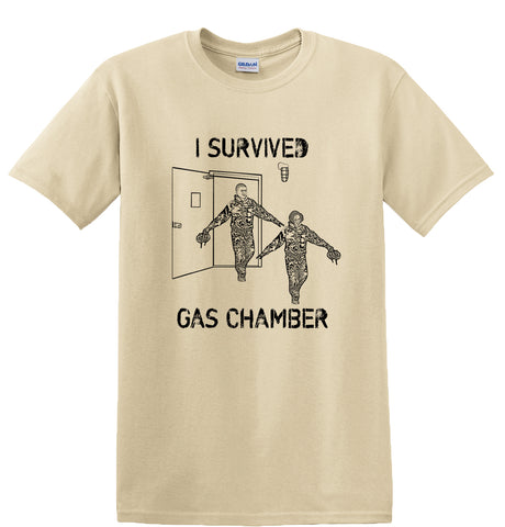 Air Force TShirt Gas Chamber- Sand