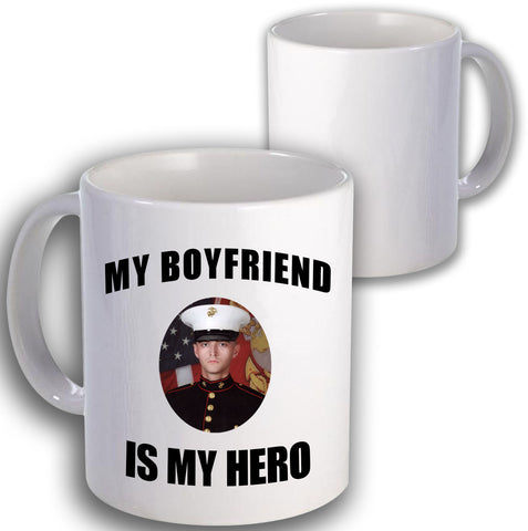 Marine Is My Hero Coffee Mug