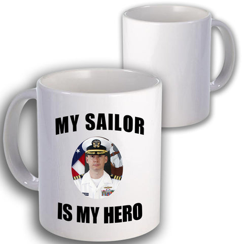 Navy Is My Hero Coffee Mug