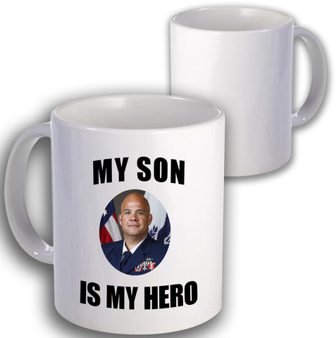 Coast Guard Is My Hero Coffee Mug