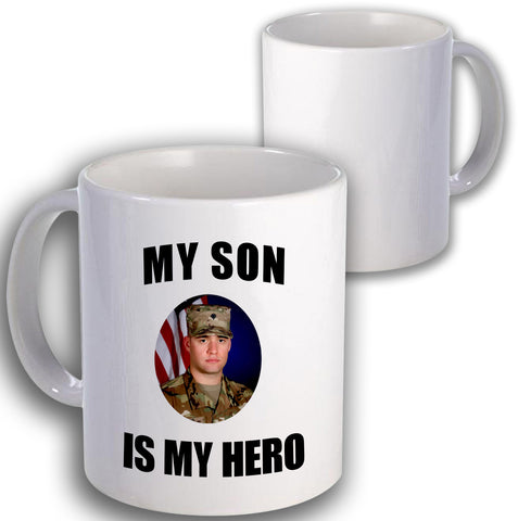 Army Is My Hero Coffee Mug