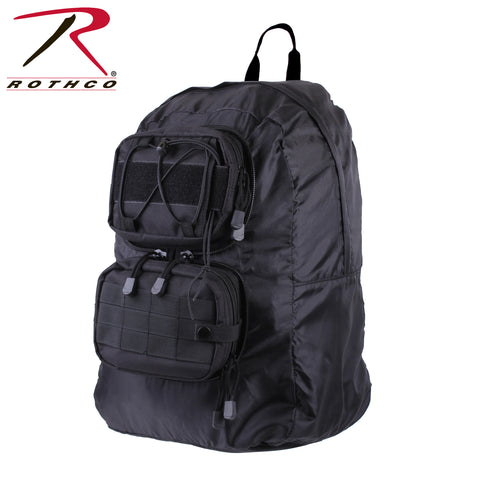 Rothco Tactical Foldable Backpack - Black