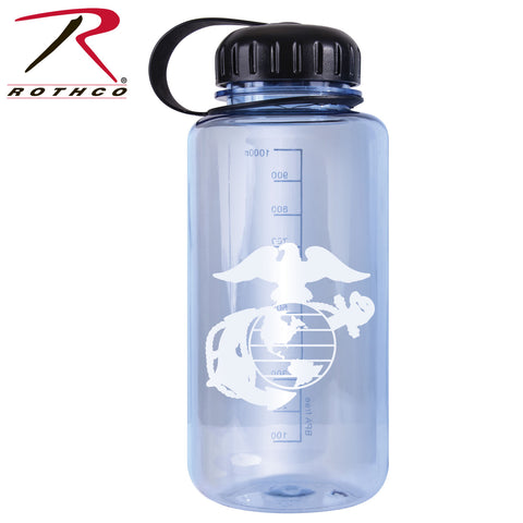 Rothco Military Logo BPA Free Water Bottle - 32 Ounces - Marines
