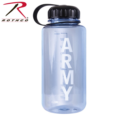 Rothco Military Logo BPA Free Water Bottle - 32 Ounces - Army