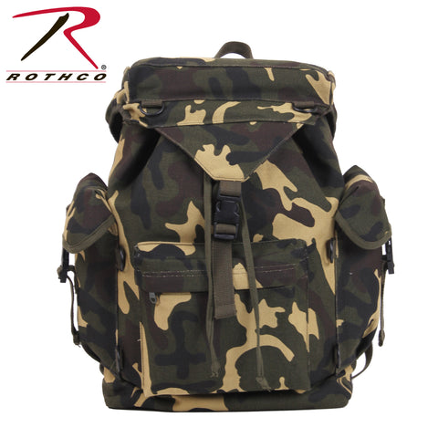 Rothco Canvas Outdoorsman Rucksack - Camo