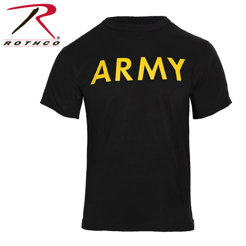 Rothco Army T-Shirt - Black