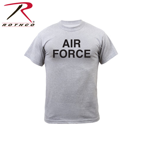 Rothco Grey Air Force Physical Training T-Shirt