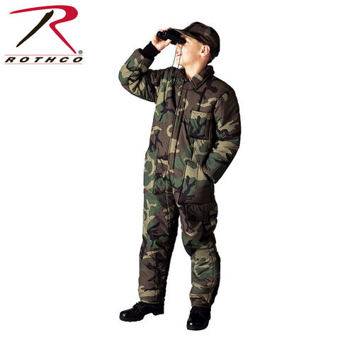 Rothco Kids Insulated Coverall - Woodland Camo