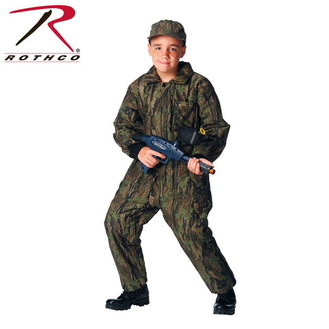 Rothco Kids Insulated Coverall - Smokey Branch Camo