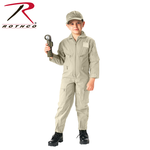 Rothco Kids Air Force Type Flightsuit - khaki