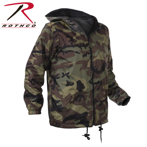 Rothco Kids Reversible Camo Jacket With Hood
