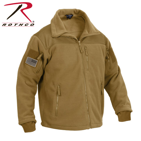Rothco Spec Ops Tactical Fleece Jacket - Coyote Brown