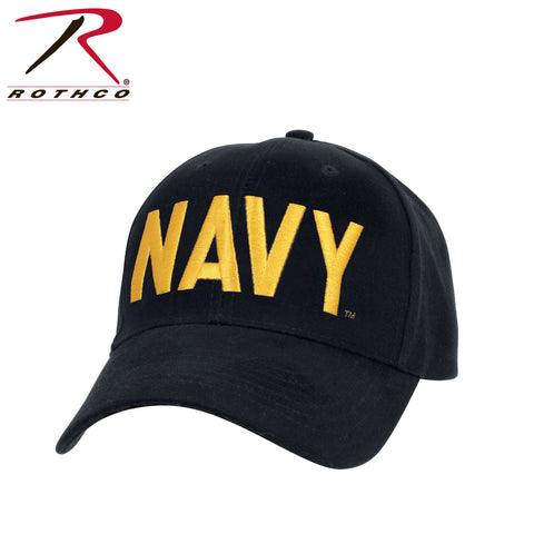 Rothco Navy Supreme Low Profile Insignia Cap - Navy Blue