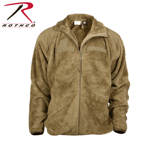 Rothco Generation III Level 3 ECWCS Fleece Jacket - Coyote Brown