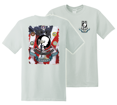 Air Force POW T-Shirt WHITE