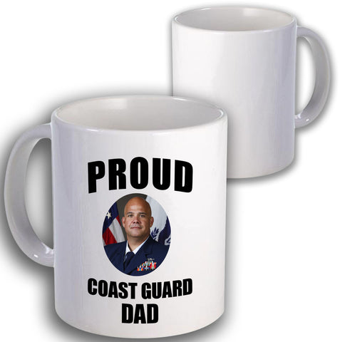 Coast Guard Proud Coffee Mug