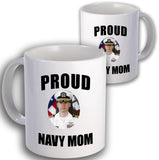 Navy Proud Coffee Mug