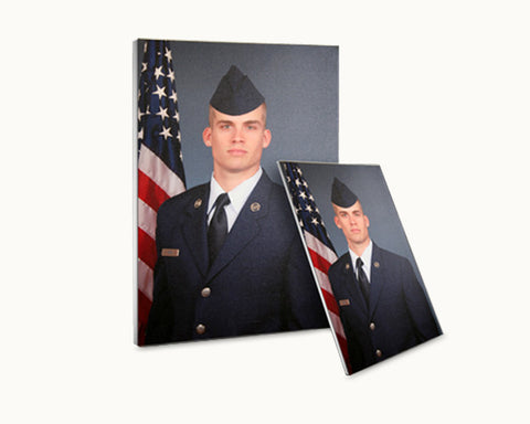 "Airman's Portrait Canvas 12"" x 16"""