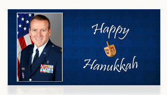 Air Force Happy Hanukkah Cards