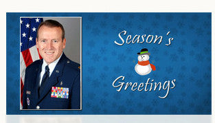 Air Force Season's Grettings Cards