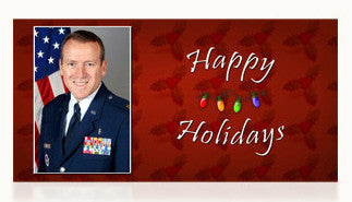 Air Force Happy Holidays Cards