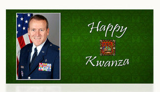 Air Force Happy Kwanza Cards
