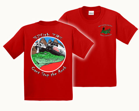 Air Force TShirt 320 TRS RED GATOR