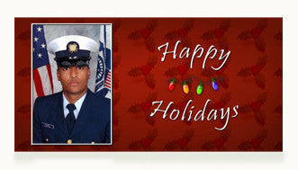 Coast Guard Happy Holidays Cards
